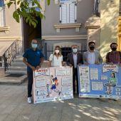 La UMH instala en albergues del Camino de Santiago paneles informativos sobre la prevención y el manejo de lesiones