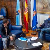 Manuel Campos - alcalde de Cuntis