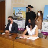 Instantes de la presentación en Chiclana