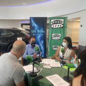Programa especial de Onda Cero Elche desde las instalaciones del concesionario oficial Lexus en Elche.