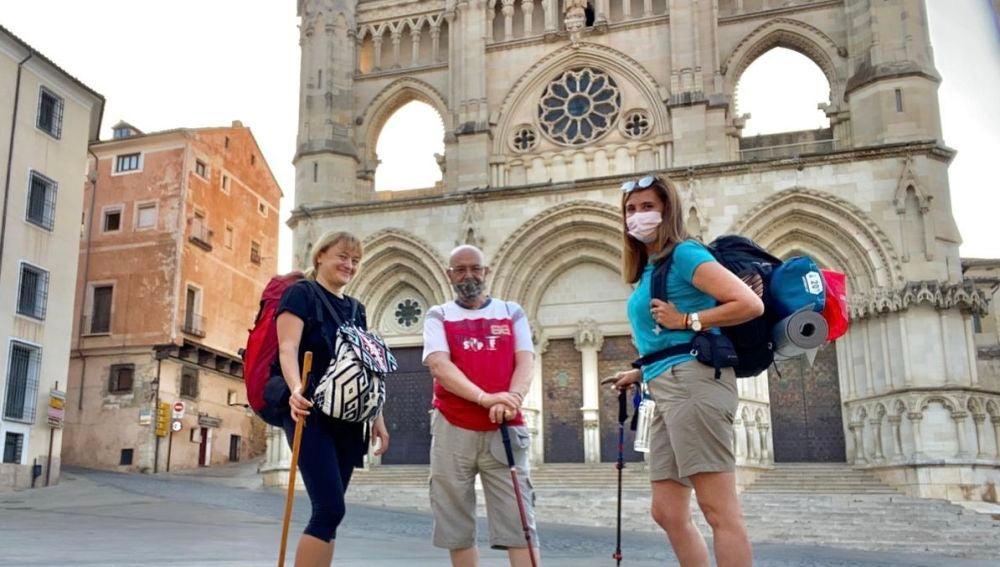 El recorrido ha partido desde la Catedral de Cuenca este miércoles