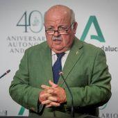 Jesús Aguirre, consejero de Salud y Familia de Andalucía