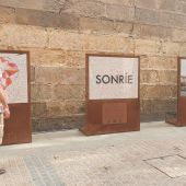 Sonrisas en Bilbao como símbolo de lucha ante la pandemia