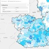 Mapa casos totales semana epidemiológica 28