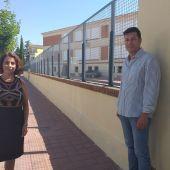El Ayuntamiento de Teruel realiza trabajos de mantenimiento en los colegios de la ciudad