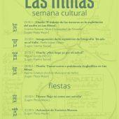 Programación Las Minas Semana Cultural