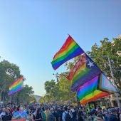 Clamor contra la LGTBIfòbia a Barcelona