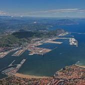 Imagen aérea del puerto