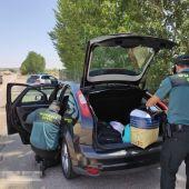 """La Guardia Civil detiene a dos personas supuestos autores delitos hurto por método """"abrazo cariñoso"""""""