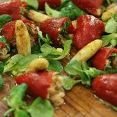 Ensalada con pimientos rellenos, receta de Robin Food