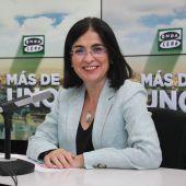 La ministra de Sanidad, Carolina Darias, en Más de uno