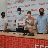 CCOO asegura asesoramiento gratuito a los temporeros migrantes de Albacete