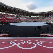 Todo listo para la ceremonia de inauguración de los Juegos Olímpicos de Tokio 2020