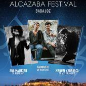 El Alcazaba Festival comienza su montaje