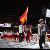 Saúl Craviotto y Mireia Belmonte, abanderados españoles en la ceremonia de apertura de Tokio 2020