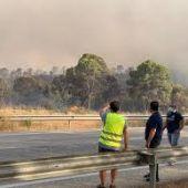 2.500 hectáreas de pino arrasadas en el primer gran incendio del verano en la provincia y que ya ha podido estabilizar