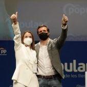 Marga Prohens y Pablo Casado