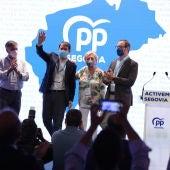 Paloma Sanz reelegida presidenta del PP de Segovia