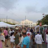 El centro de la Plaza de las Bodegas