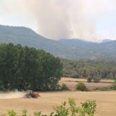 Estabilizado el incendio de la Conda de Barberà y Anoia