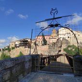 La calle Canónigos y el puente de San Pablo de Cuenca no serán transitables hasta, al menos, final de año