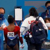 Simon Biles se retira de la competición por equipos de gimnasia artística en los JJOO de Tokio 2020