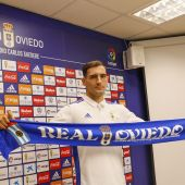 Dani Calvo, nuevo jugador del Real Oviedo