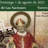 Este próximo domingo se celebrará la festividad de San Emigdio copatrón de Torrevieja