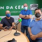 De izquierda a derecha: Fernando Antón, Felip Sánchez y Santiago Pascual