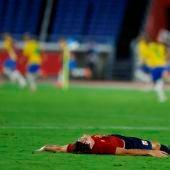 España pierde ante Brasil en la pórroga