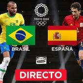 España - Brasil, en directo: final de fútbol, partido de hoy en los Juegos Olímpicos