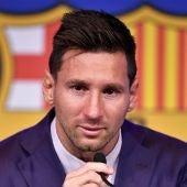 El adiós de Messi