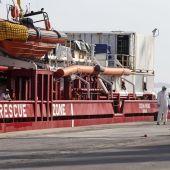 El 'Ocean Viking' desembarcará este domingo en Sicilia a los más de 500 migrantes rescatados a bordo