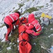 Rescate en Picos de Europa, Cabrales.