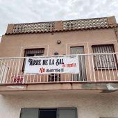 Los vecinos de Torre la Sal organizan una protesta en Castellón contra el derribo de sus casas
