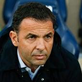 Javi Calleja, entrenador del Alavés