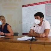 María Ángeles Martínez, en rueda de prensa