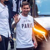 Leo Messi en París