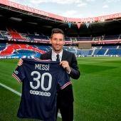 El motivo por el que Messi llevará el número 30 en el PSG