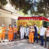 Trabajadores del CICU de Alicante