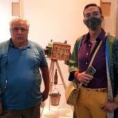 Instantes de la presentación de la pieza del mes en el Museo de El Puerto