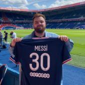 """Leo Messi, a Ibai Llanos: """"Estoy ilusionado por un nuevo comienzo aquí en París"""""""