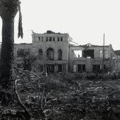 Uno de los edificios de Cádiz afectados por la explosión