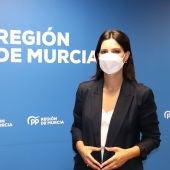 Miriam Guardiola, portavoz regional del PP