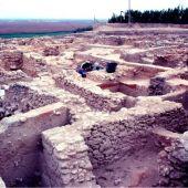 Una imagen de archivo de excavaciones en el Yacimiento de San Cristóbal