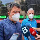 Cort desconoce cuándo podrán volver los vecinos desalojados de Bons Aires una vez que los edificios se apuntalen