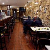 Interior de un bar de Ferrol