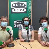 Juan Carlos Fresneda, María Francés y Paul Lecumberri