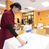 Comedor en un centro de mayores
