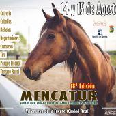 Imagen cartel 18ª edición de MENCATUR, Villanueva de la Fuente
